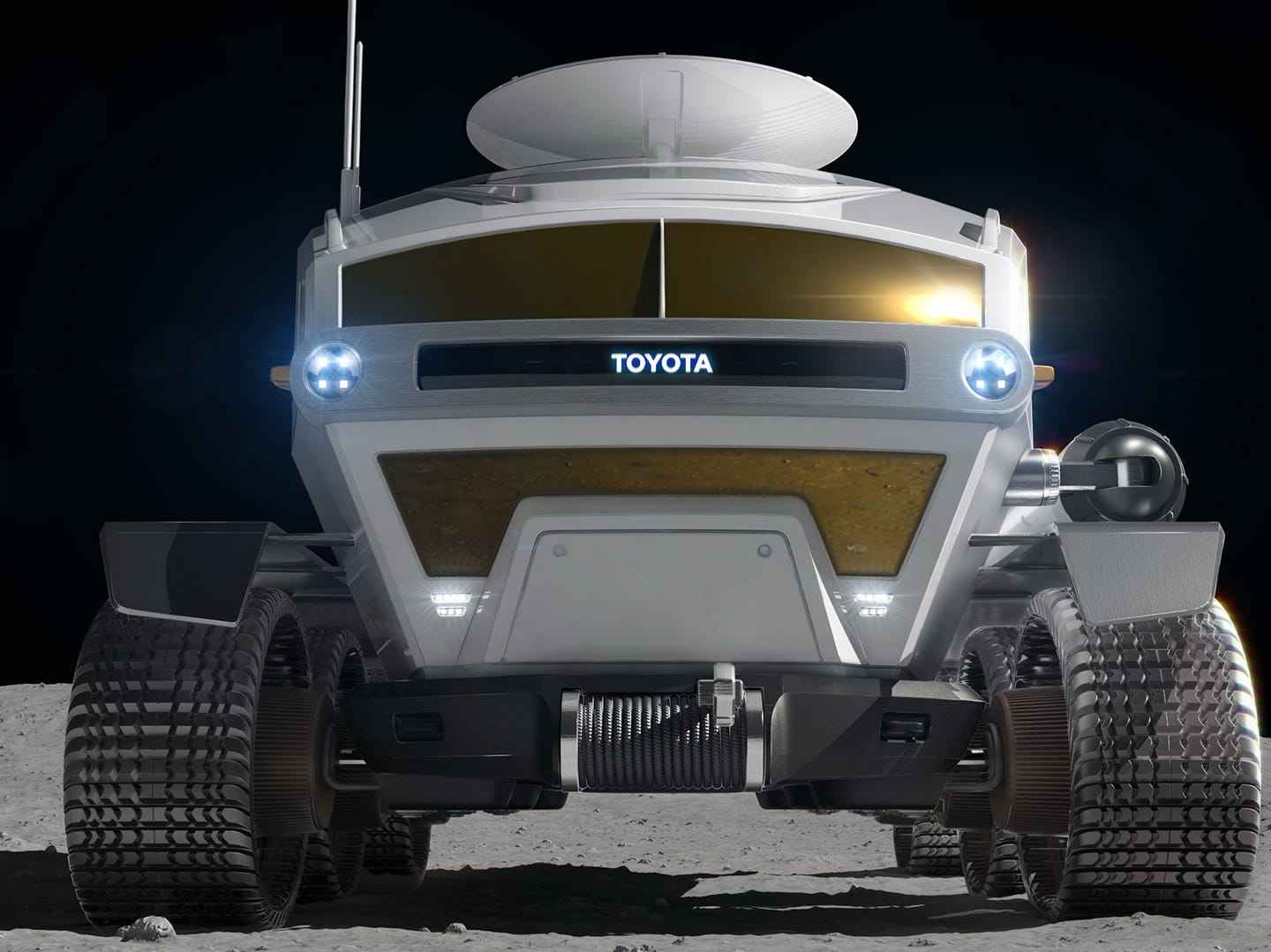 The goal is to achieve a sustainable future on the moon, and eventually Mars.