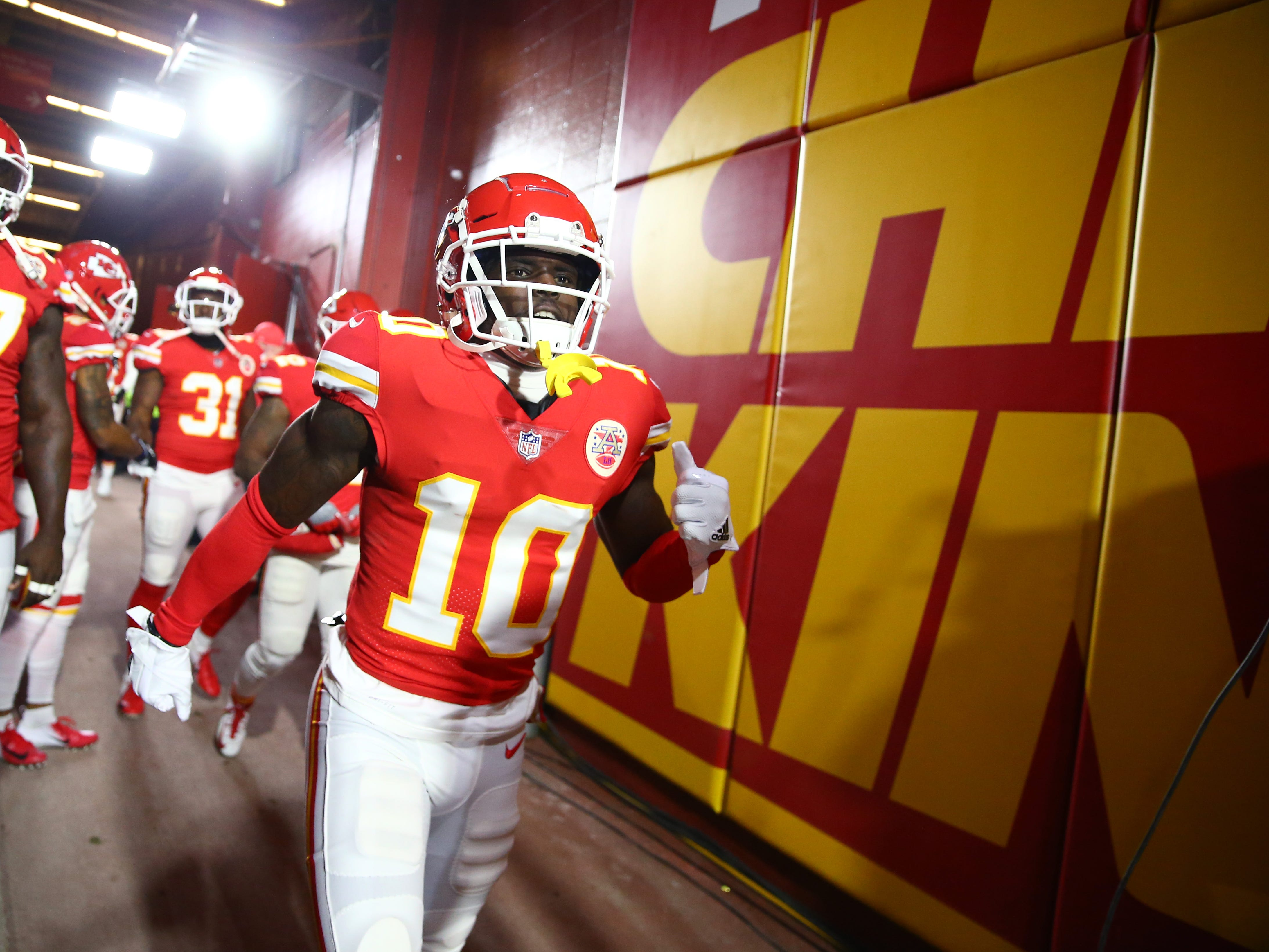 4. Chiefs (3): Remains to be seen how their free agency choices pan out and how well personnel fit Steve Spagnuolo's defense. WR Tyreek Hill's legal situation bears close monitoring.