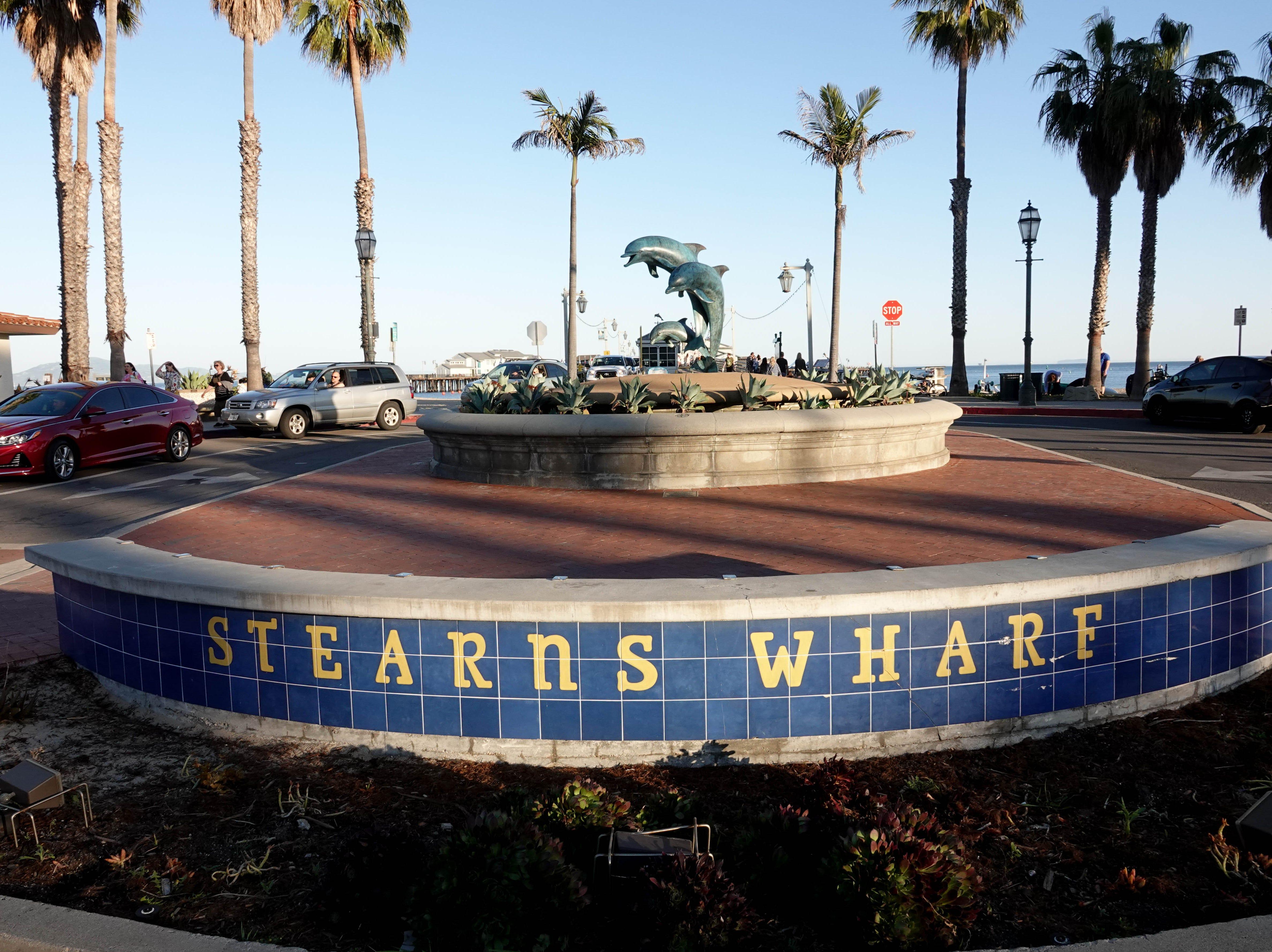 Stearns Wharf.