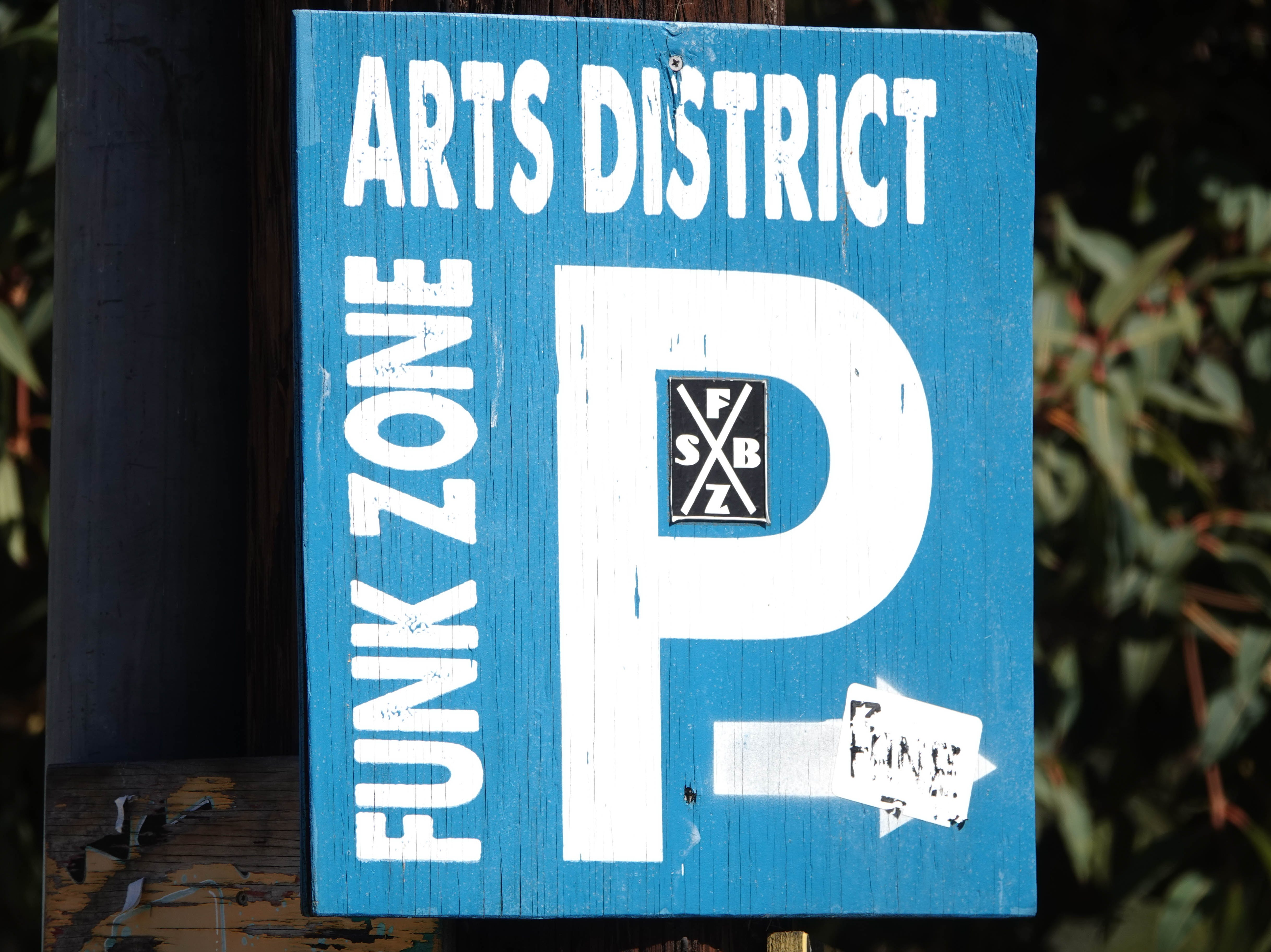 The Funk Zone district.