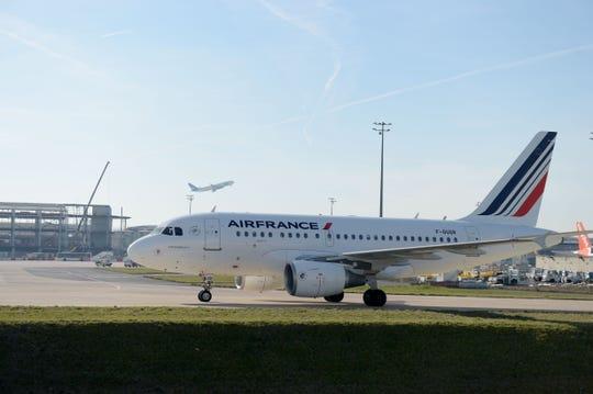 An Air France Airbus.
