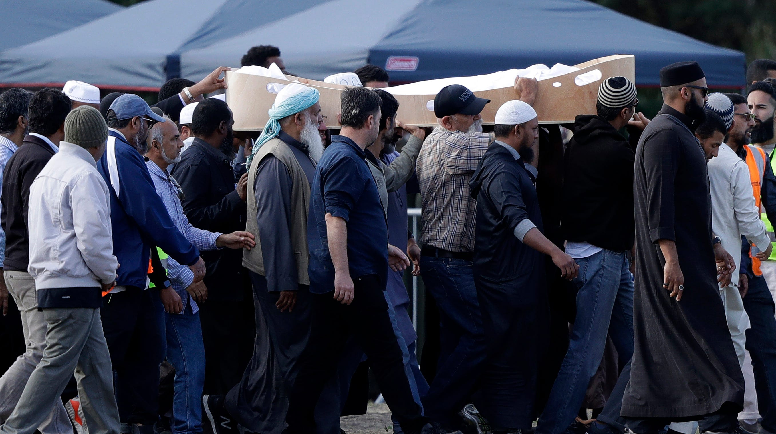 New Zealand Shooting Pinterest: New Zealand Holds First Funerals For Mosque Shooting Victims
