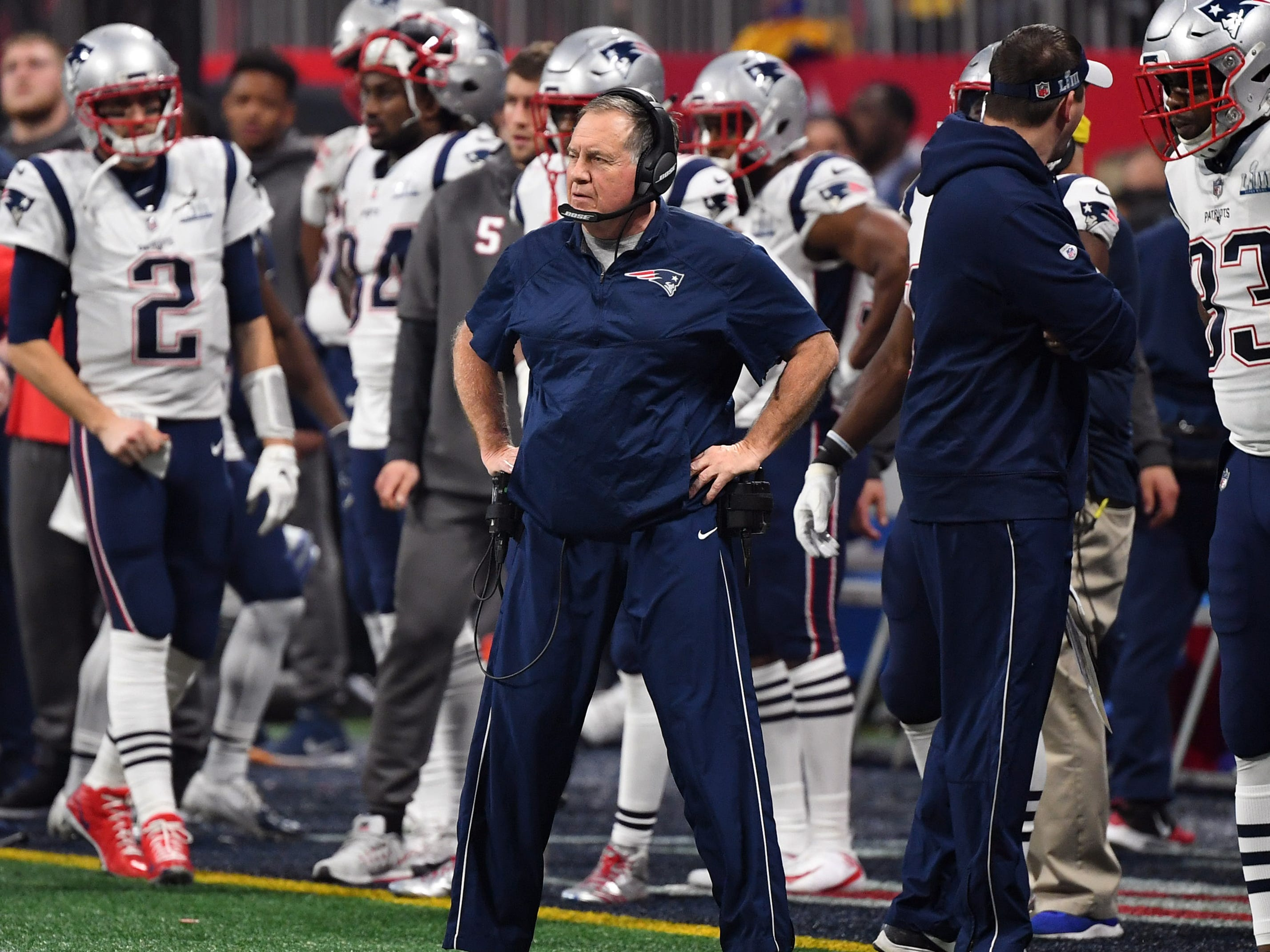1. Patriots (1): Until proven otherwise ... They dealt for DL Michael Bennett but were minor players in free agency, letting DE Trey Flowers, LT Trent Brown and others go. But this is New England — expect an ace to emerge from Bill Belichick's cut-off sleeve at some point, likely nearer draft.