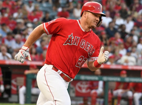 Trout signed the biggest contract in baseball history this spring.