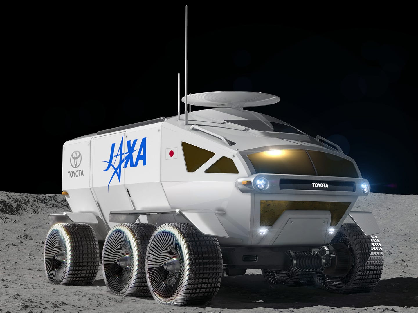 Toyota's next big vehicle is over the moon