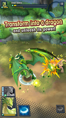 In the mobile role-playing game 'Dragalia Lost' (for iOS and Android), you face many dozens of quests and can become a dragon.