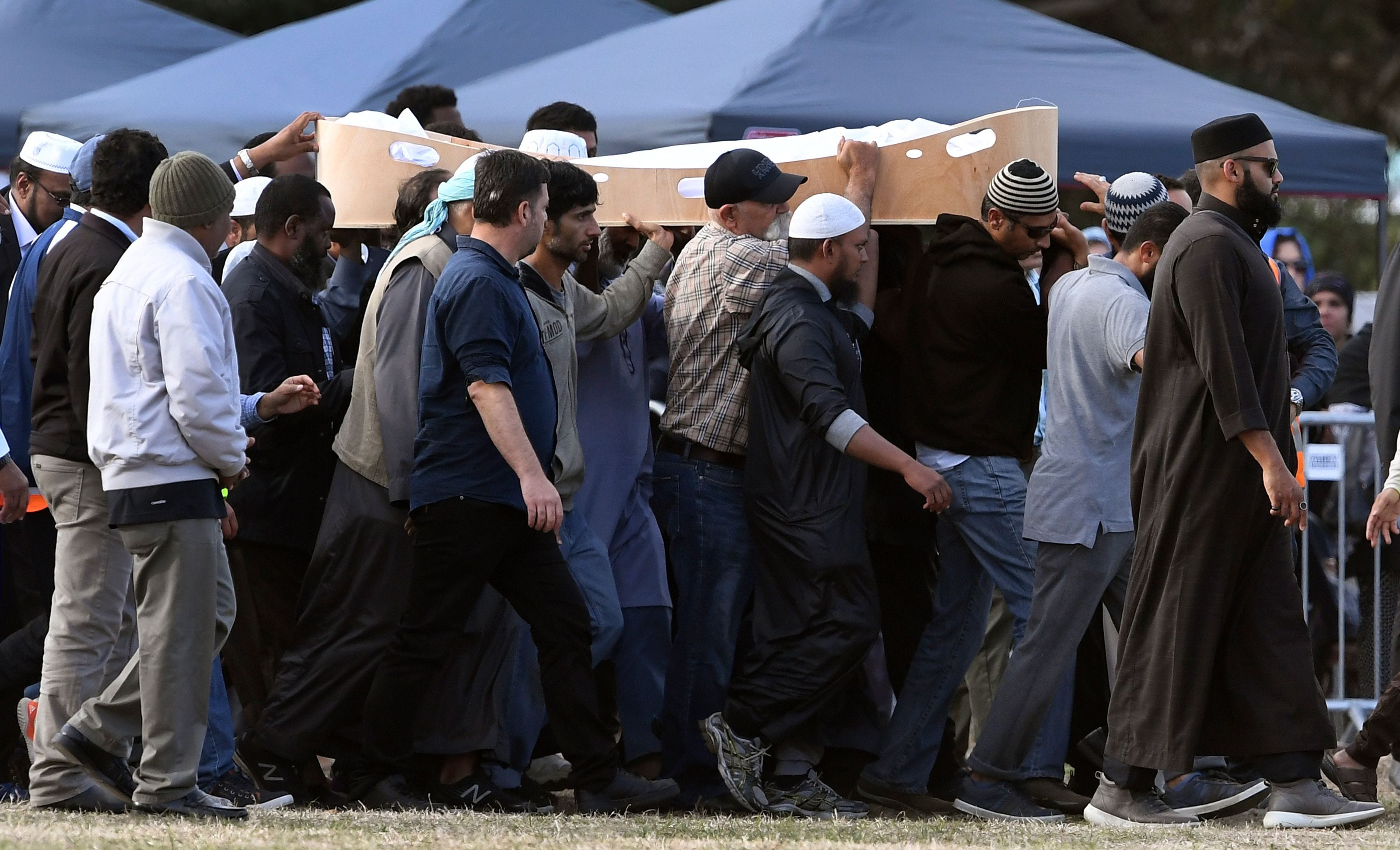 After killing dozens, New Zealand mosque attacks suspect was headed to carry out third shooting, police say