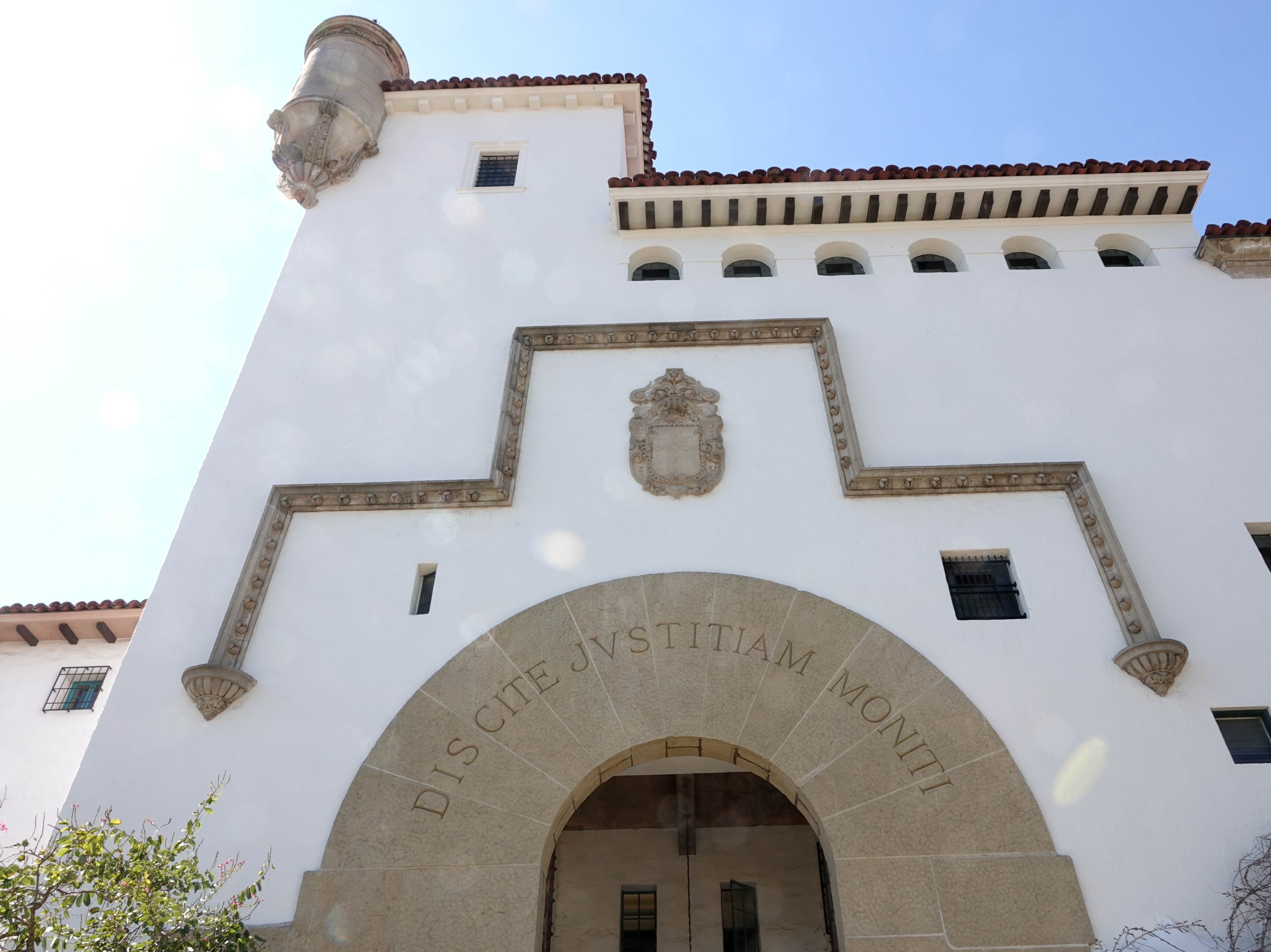 Santa Barbara County Courthouse.