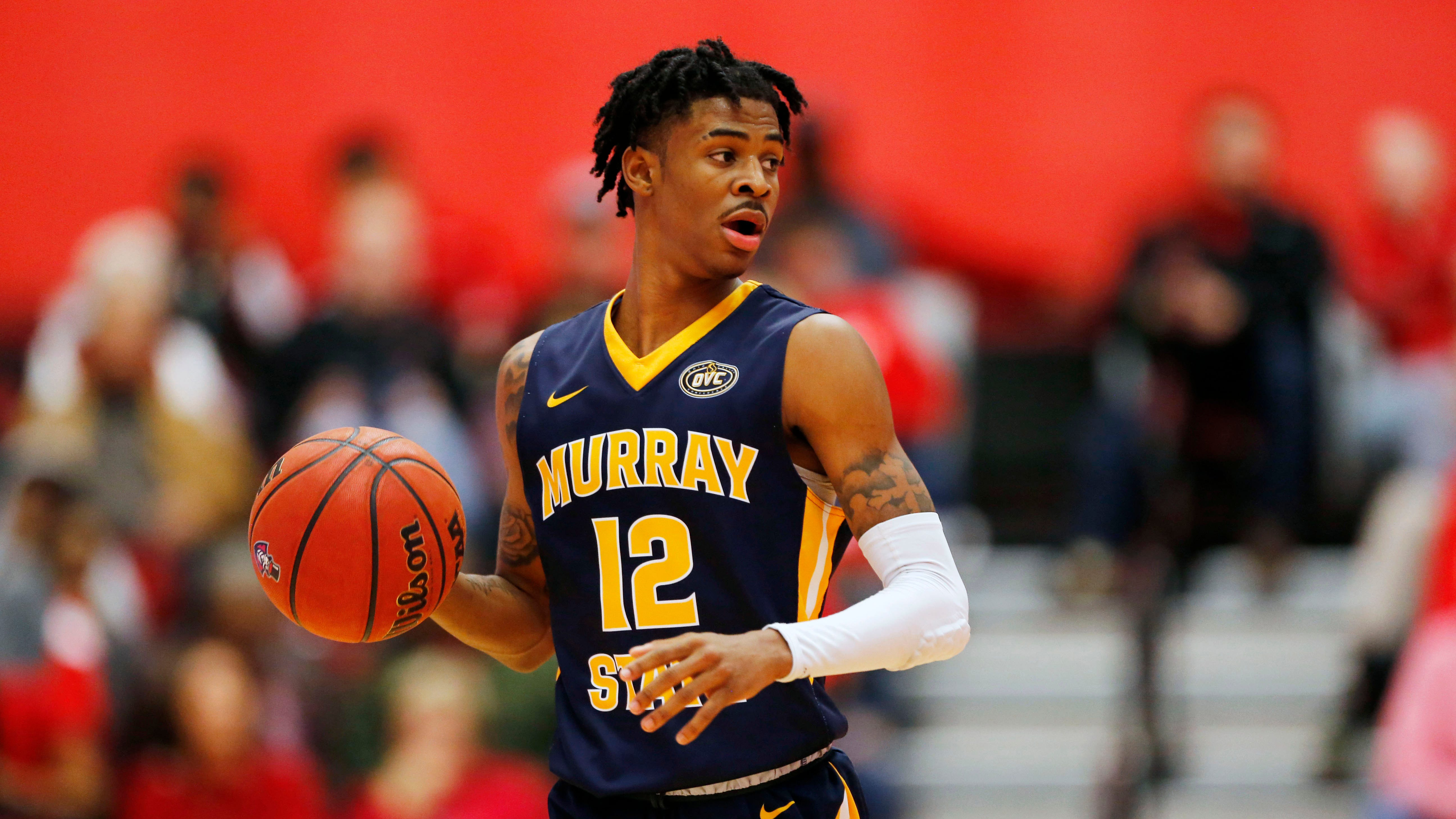 Murray State Racers guard Ja Morant.