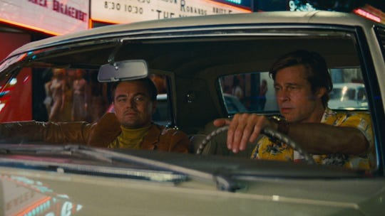 "Brad Pitt is Leonardo DiCaprio's stunt double in ""Once Upon A Time In Hollywood."""