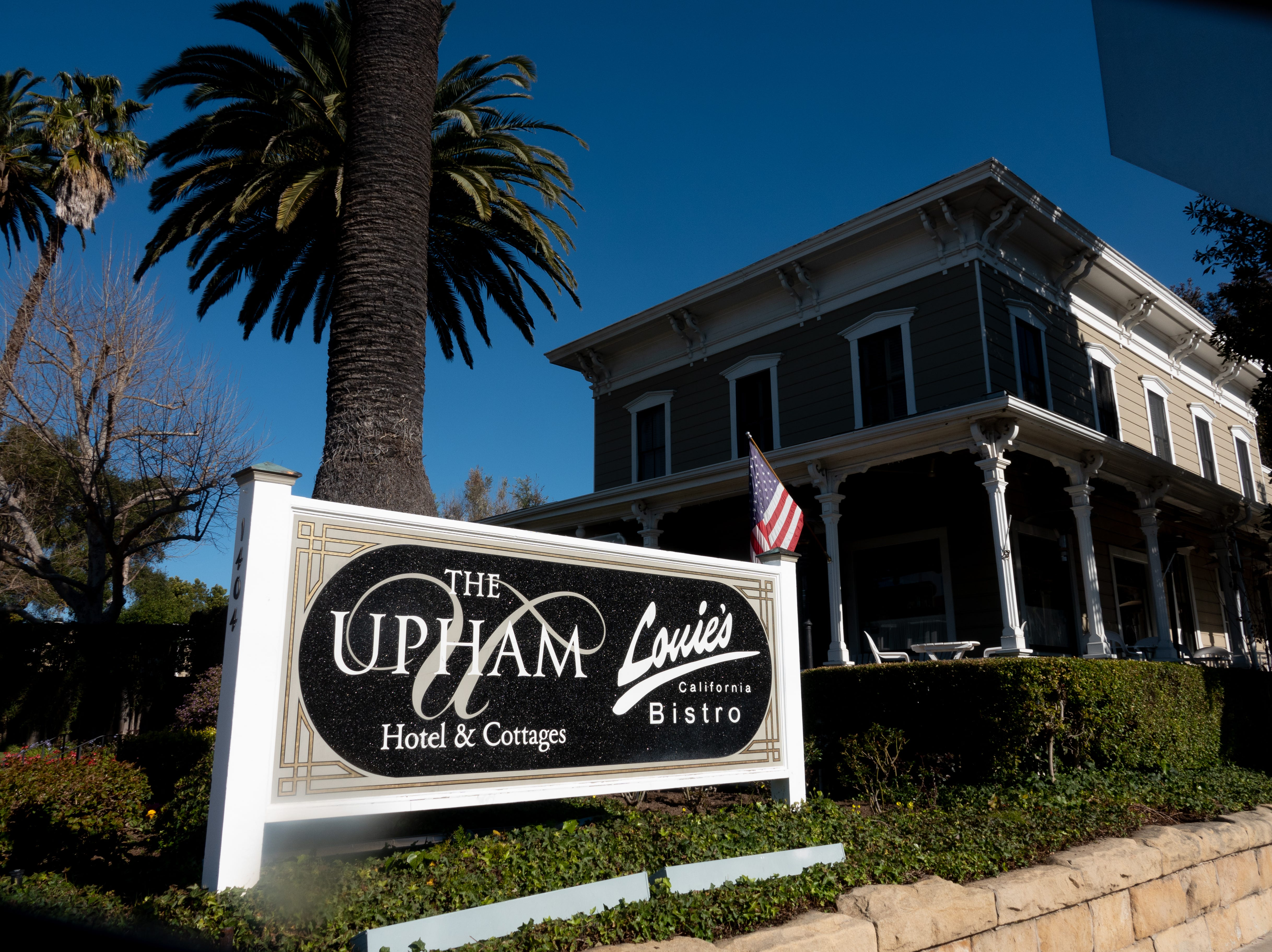 The Upham Hotel has been in operation since 1871.