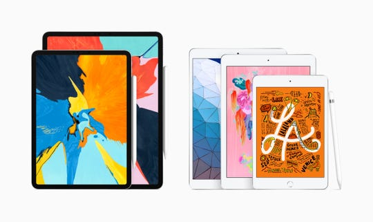Apple's new iPad lineup