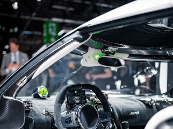 The Koenigsegg Jesko was named after founder Christian von Koenigsegg's father.