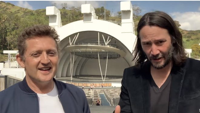"""Alex Winter and Keanu Reeves are back for """"Bill & Ted Face the Music"""""""