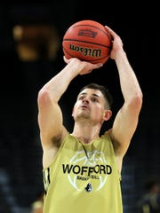 Wofford  guard Fletcher Magee can make some NCAA three-point history on Thursday against Seton Hall.