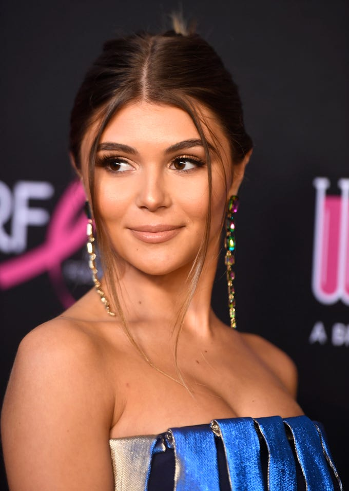 Olivia Giannulli attends The Women's Cancer Research Fund's An Unforgettable Evening Benefit Gala at the Beverly Wilshire Four Seasons Hotel on Feb. 28, 2019, in Beverly Hills, Calif.