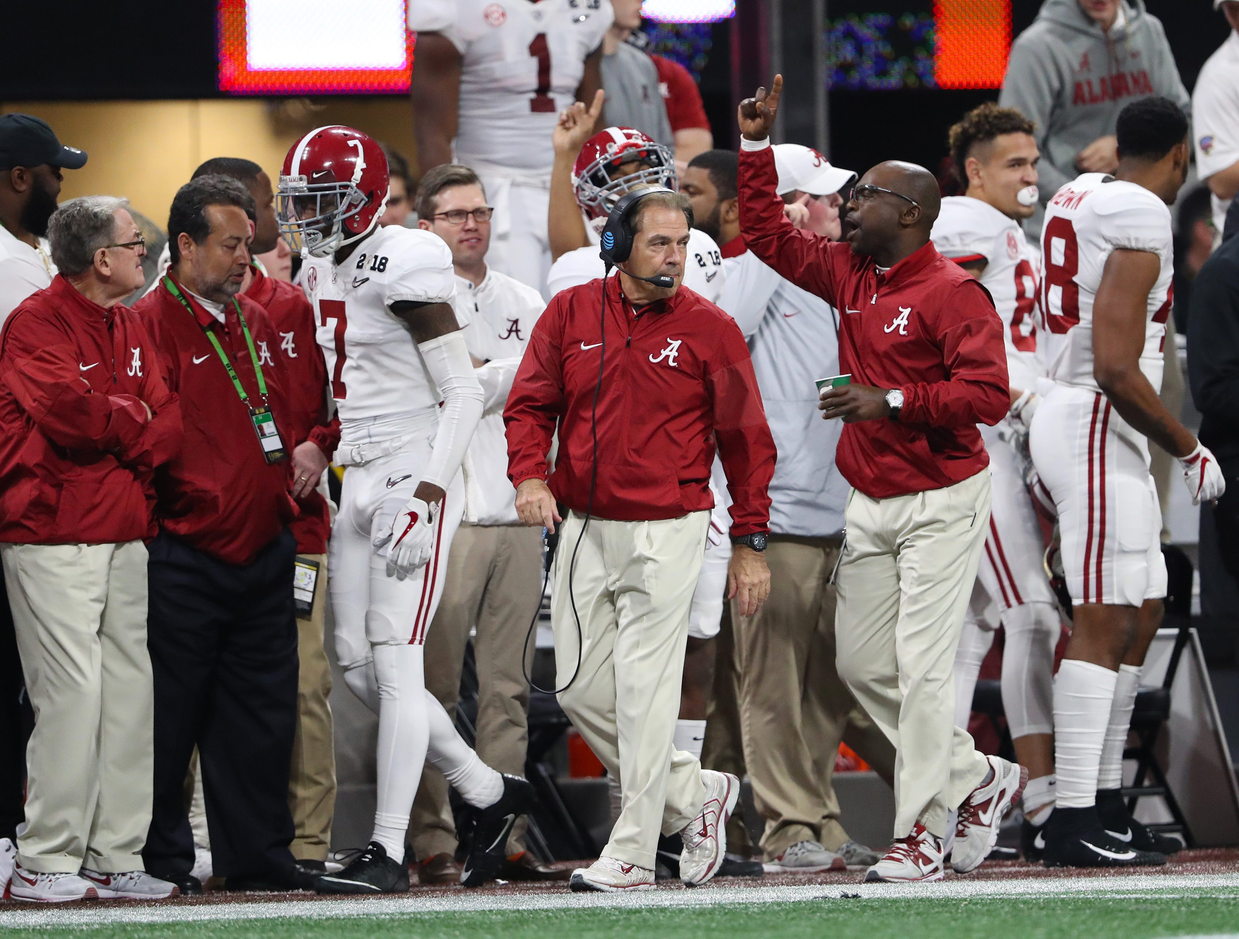 Alabama will pay football assistants just over $7.5 million for the 2019 season