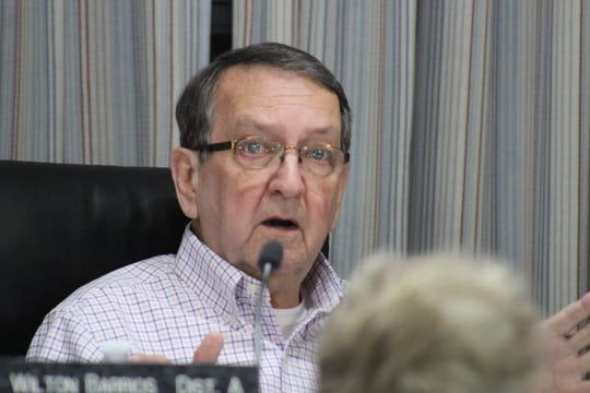 Wilton Barrios, Rapides Parish School Board president, said he made a proposal for a 3 percent pay raise for all employees because of low morale in the district.