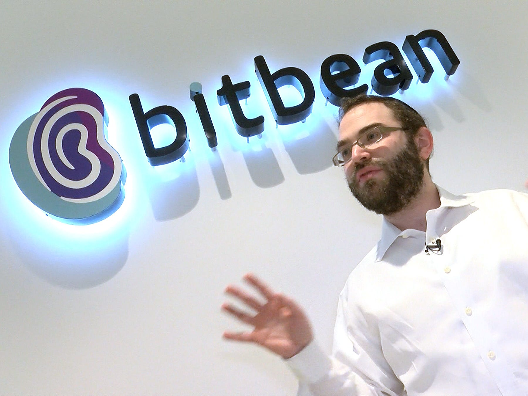 Ephraim Arnstein, owner of the software development company Bitbean, is shown at his Lakewood office Wednesday, March 13, 2019.