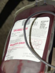 Mission Hospital gets its blood supply from The Blood Connection.