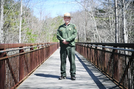 J.D. Lee is celebrating one year on the job as the official superintendent of the Blue Ridge Parkway. Lee has been working for the National Park Service for 32 years after starting his career as a seasonal law enforcement ranger and firefighter in the Smokies. Before coming to Asheville 