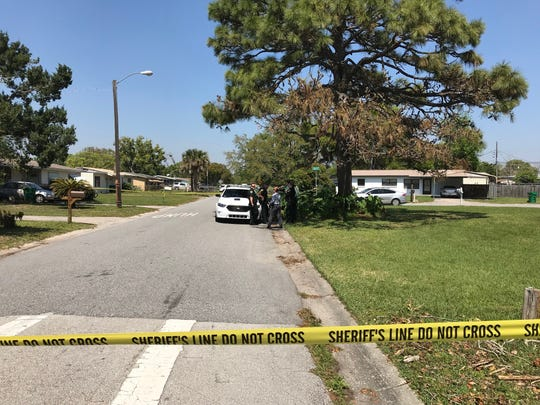 Brevard County Deputies investigate a suspicious death near Titusville March 21, 2019.