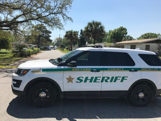 Brevard County sheriff's deputies were investigating reports of a shooting in Mims. TYLER VAZQUEZ.