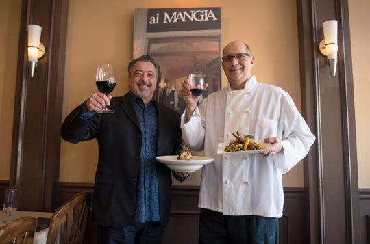 Chef Anthony Iannone, left, and Chef John Pilarz are co-owners of Anthony's Creative Italian Cuisine in Haddon Heights and co-founders of SJ Hot Chefs .