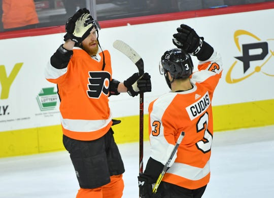 Czech natives Jake Voracek and Radko Gudas will start next season at home. The Flyers will play the Chicago Blackhawks in Prague.