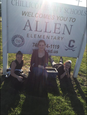 """A photo shared by one Facebook user captioned """"We definitely miss our Allen days.""""."""
