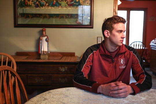 Jerome Kunkel, 18, a senior at the small private Assumption Academy in Walton, Kentucky, cannot go back to school until a chickenpox outbreak subsides. Kunkel, who is not immune from chickenpox, refuses to get the vaccination because it is made from the replicated cells of a fetus legally aborted half a century ago. He has sued health authorities for violating his constitutional freedom of religion.
