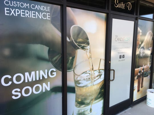 Coming soon to Needmore Road ... The Candle Loft.