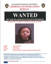 Wanted poster for Ayannah Moyd