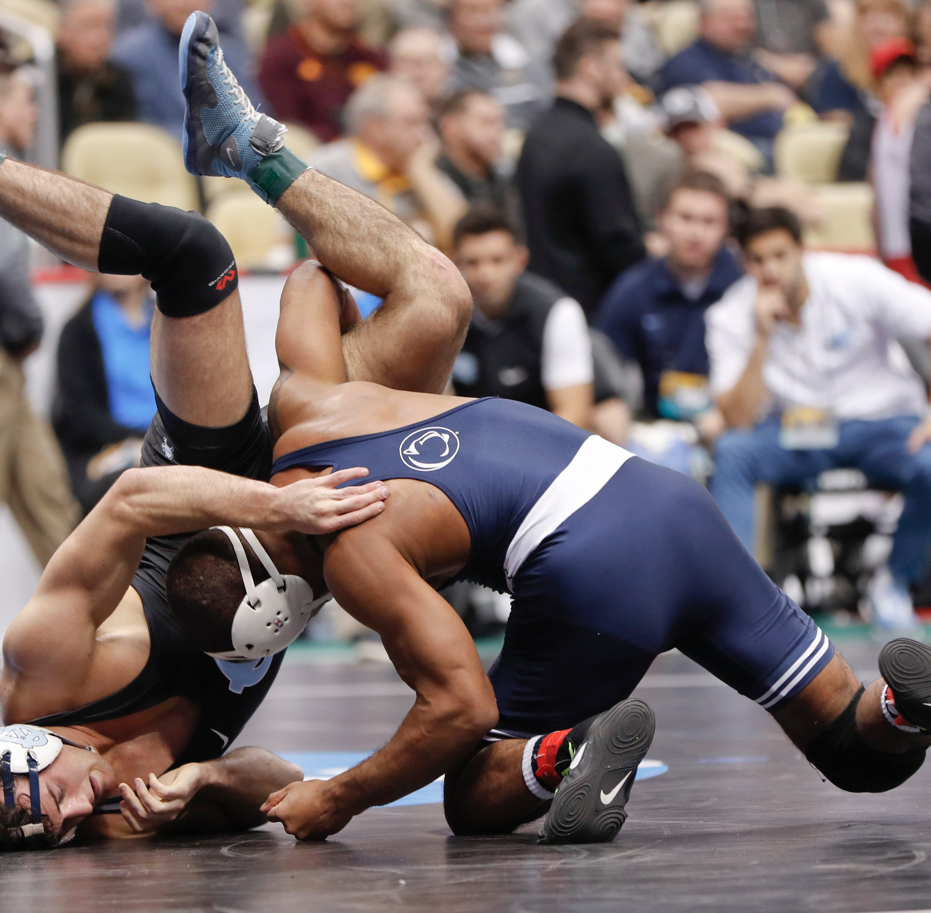 Follow live updates in the 2019 NCAA wrestling championships