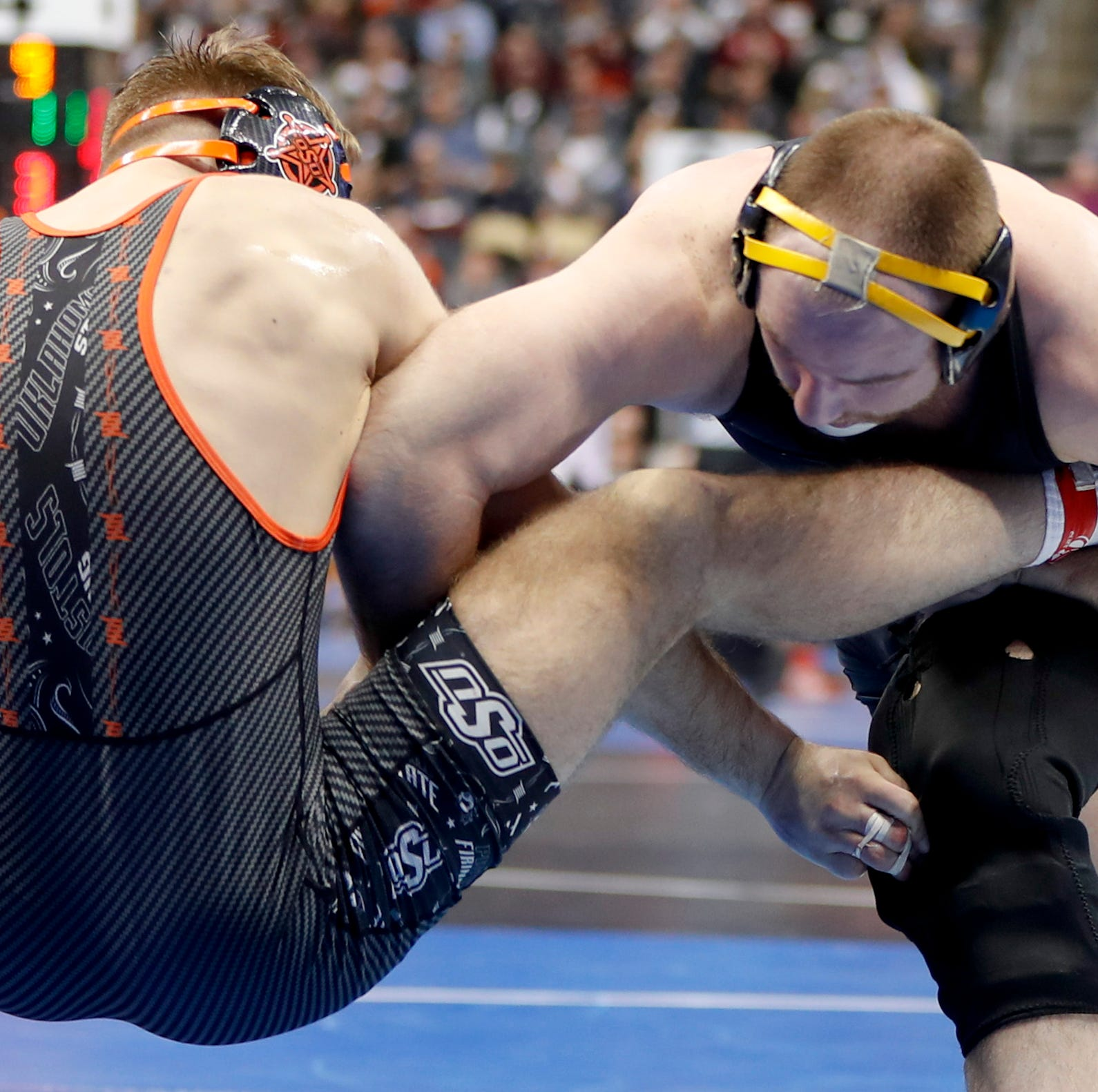 Iowa stands in 3rd place after Day One of the NCAA Wrestling Championships