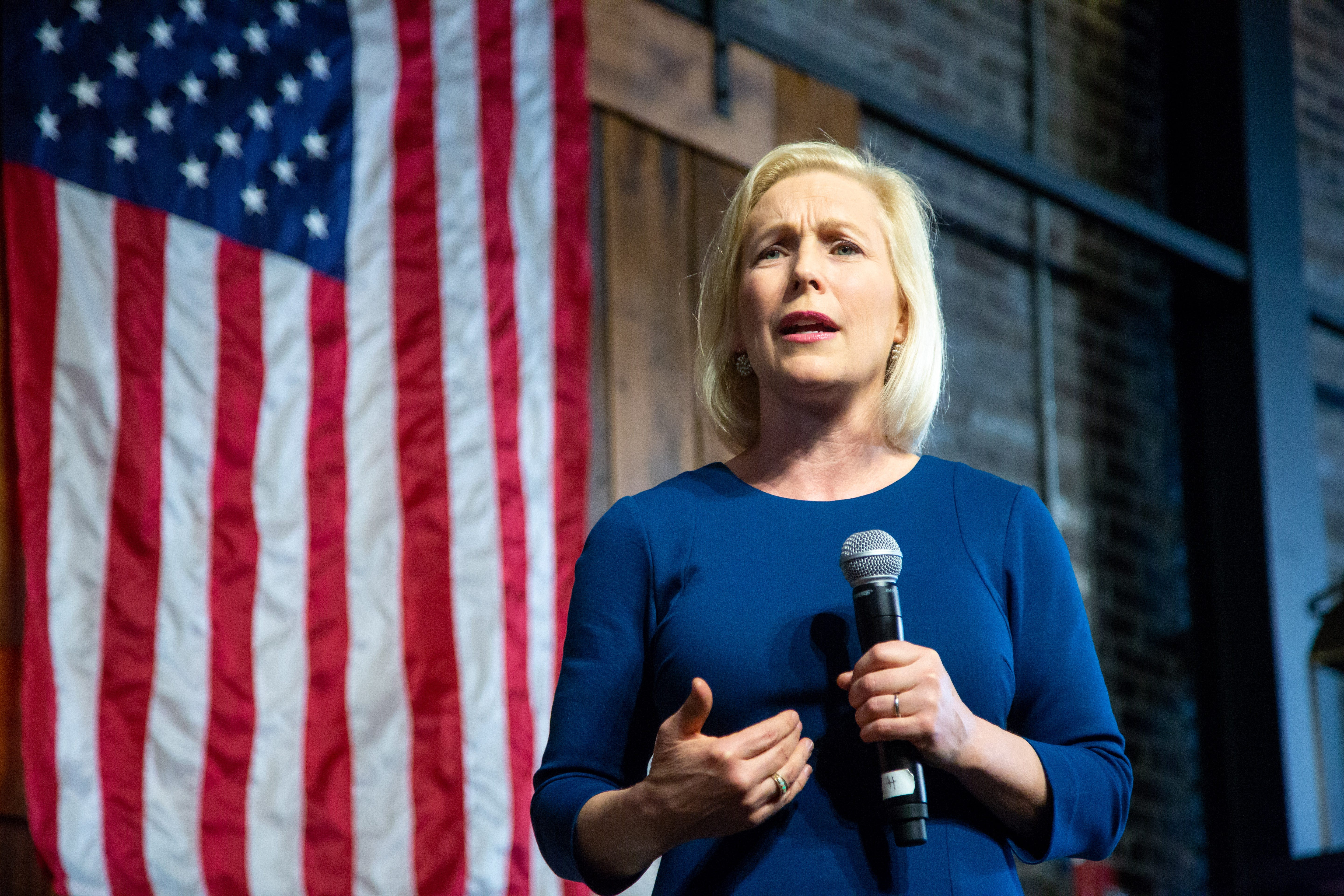Presidential candidate Kirsten Gillibrand meets with Register today at 11 a.m. CT