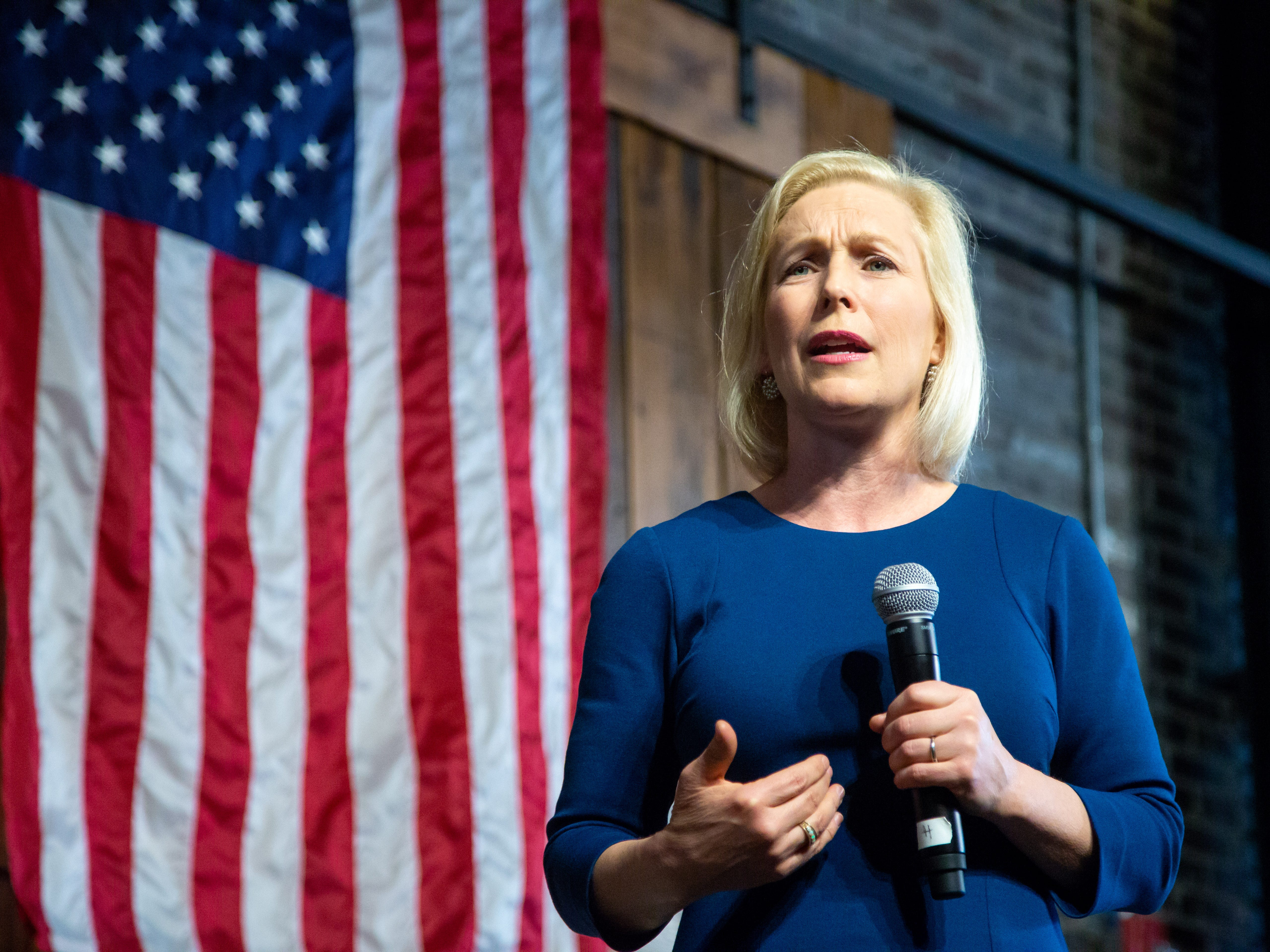 Sen. Kirsten Gillibrand links flooding to climate change, 'the greatest threat to humanity'