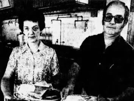 Pat and Bill Boswell are shown serving up their beloved breakfast at Boswell's Select Foods in a profile of the restaurant from the Des Moines Tribune from September 25, 1980.