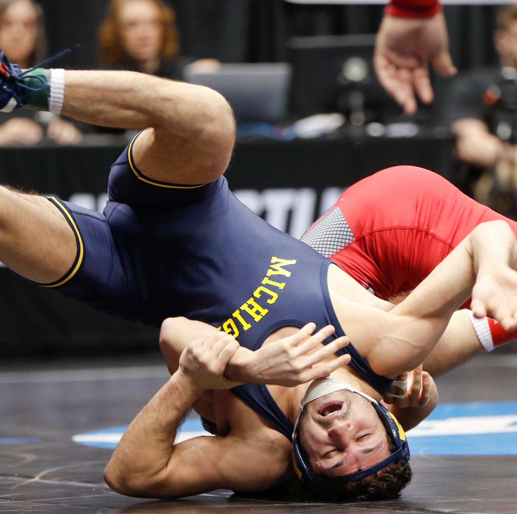 NCAA wrestling championships 2019: Sebastian Rivera comes back to finish third