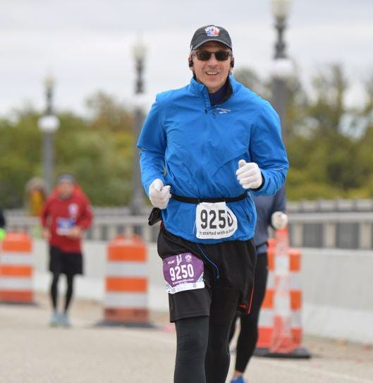 Unconventional surgery replaced both of his hips. Now he's running pain-free