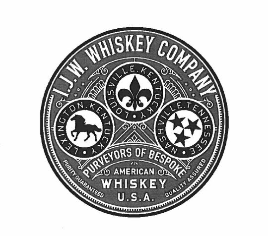 In its bid for tax incentives from the state of Kentucky, new bourbon whiskey company IJW Whiskey submitted documents with this company logo, pictured.  The University of Michigan invested with an investment firm whose officials are also financially backing IJW Whiskey. The university and company declined to say whether U-M funds are invested in the whiskey company. March 20, 2019.