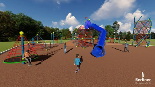 Normandy Oaks in Royal Oak is getting more than $5 million in development, including a ropes playground and splash pad.