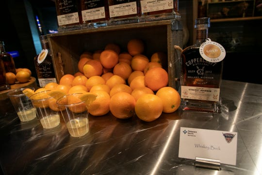 Tigers reveal new drinks made with locally distilled Coppercraft bourbon.