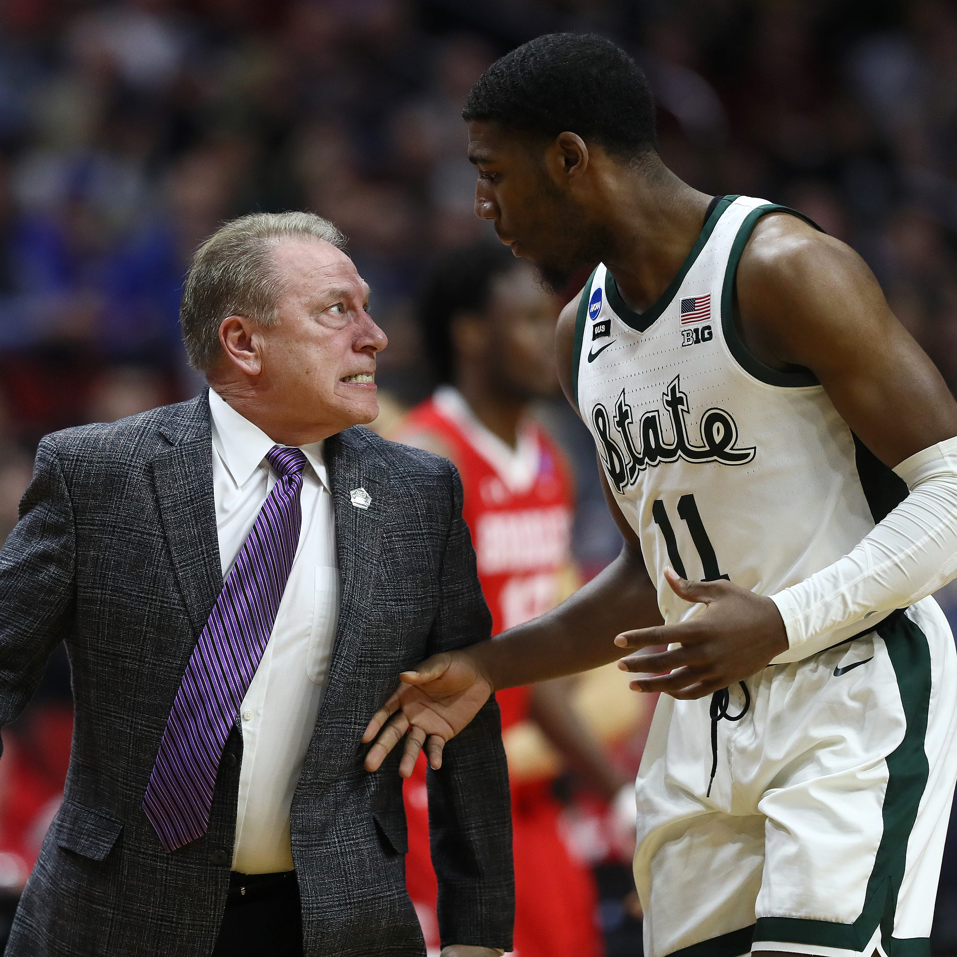 Tom Izzo had some epic meltdowns in Michigan State's win over Bradley