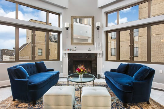 Penthouse 2905 at Westin Book Cadillac Hotel in downtown Detroit will be on the market for $4.9 million on April 13.