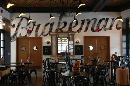 The Brakeman beer hall from NoHo Hospitality debuts at the Shinola Hotel in Detroit March 25, 2019.