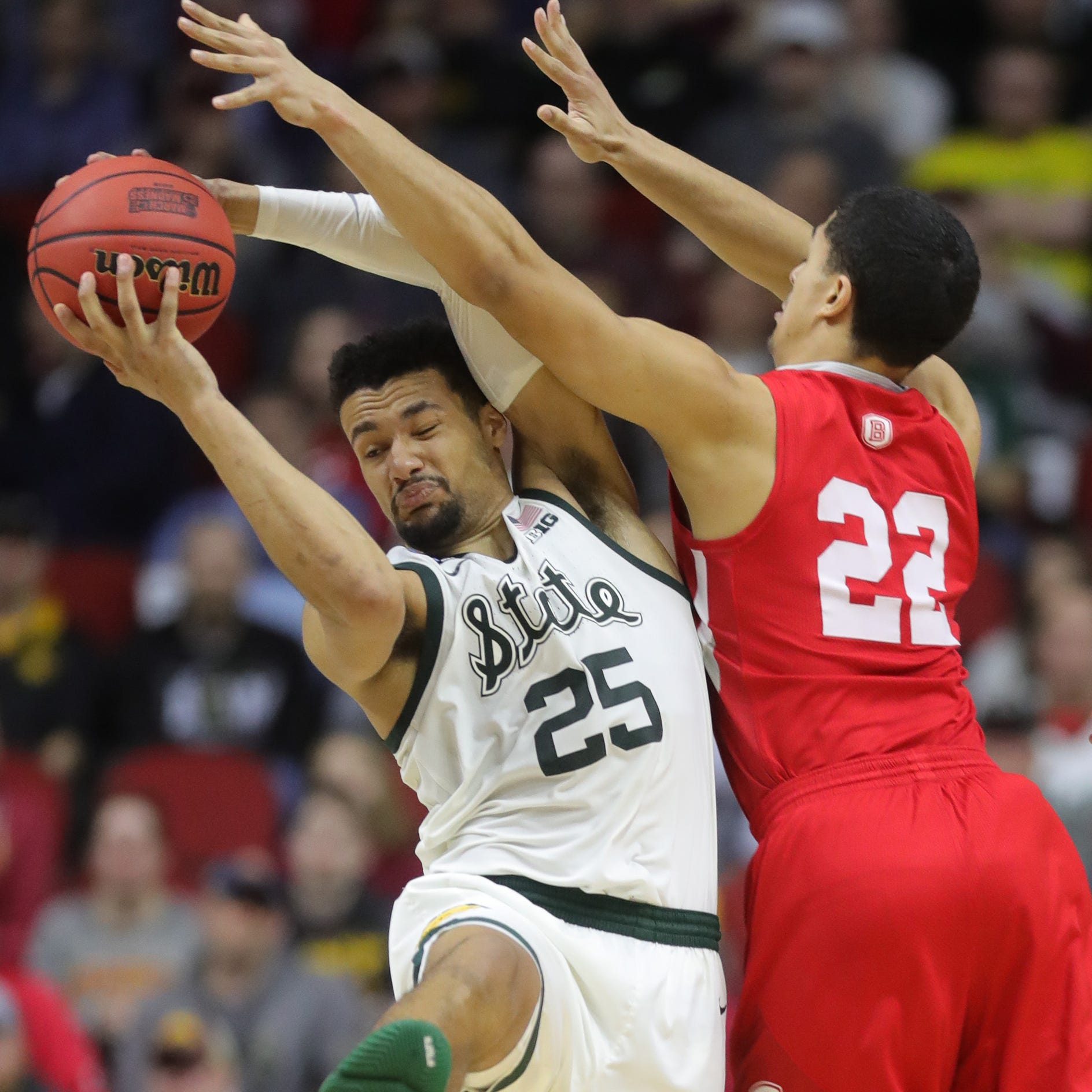 Here's when Michigan and Michigan State will tip in NCAA tournament 2nd round