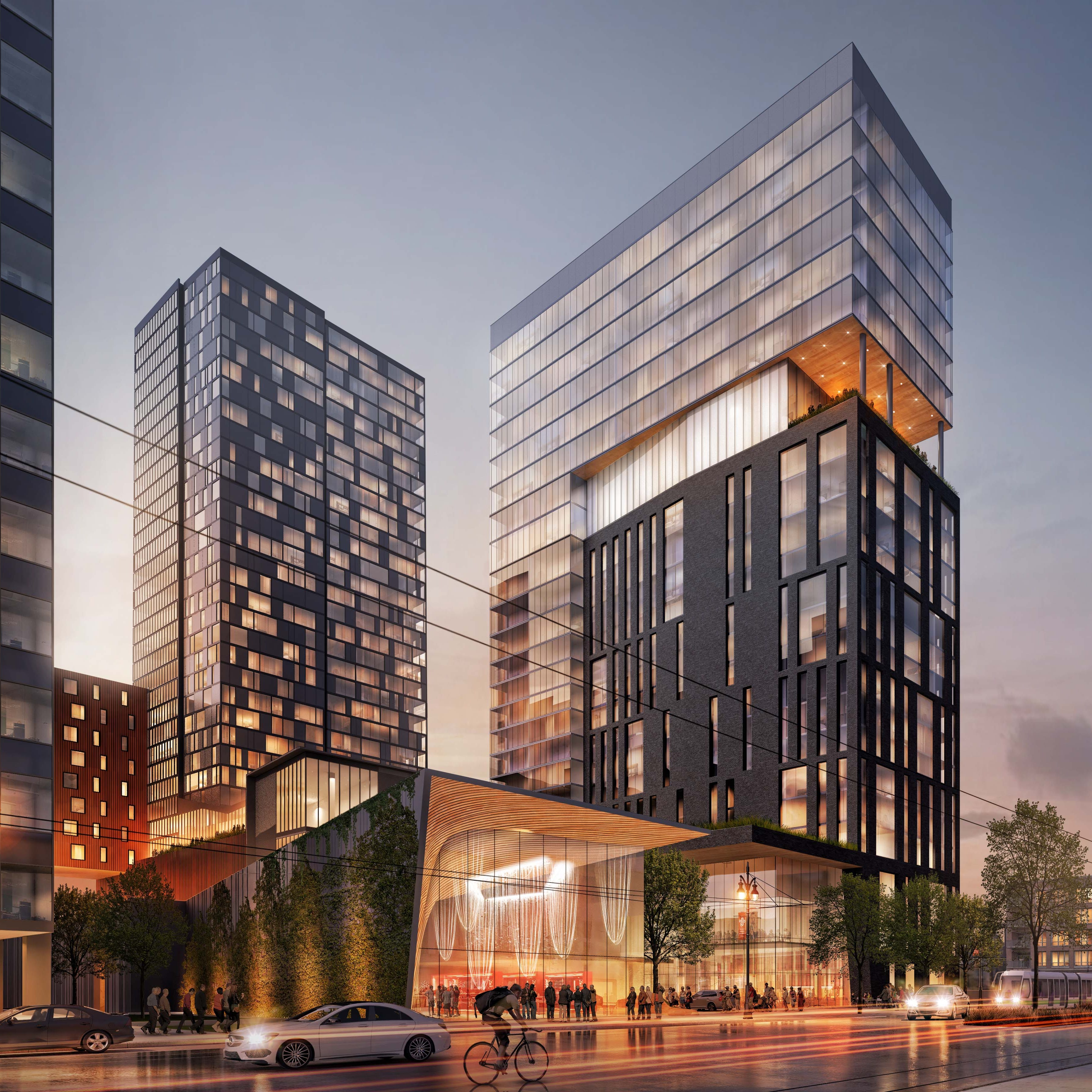 $310M luxury hotel, housing and retail project planned for Midtown