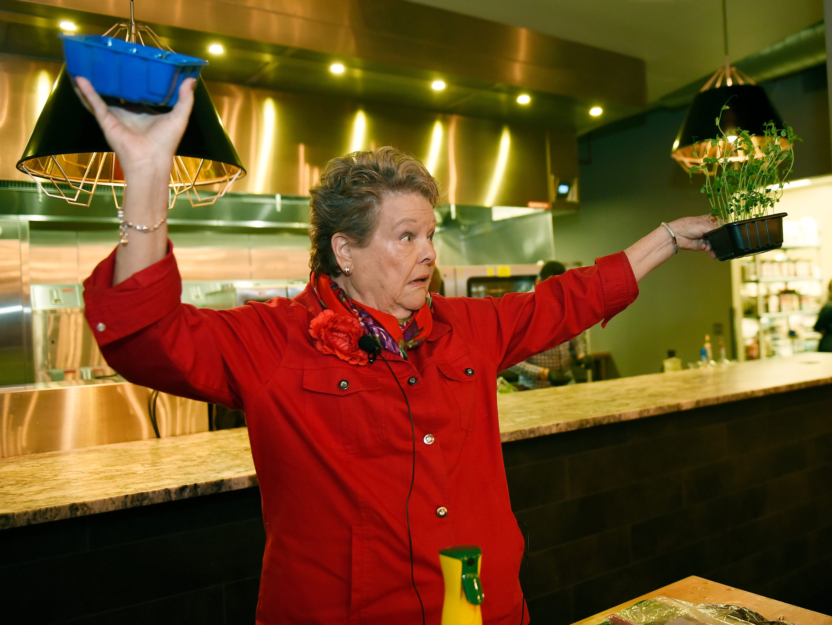 """Nancy Szerlag, a master composter and a garden writer presents her tips on gardening.  Swing Into Spring"""" Dish & Design March 20 at  at the Great Lakes Culinary Center in Southfield, Mi."""