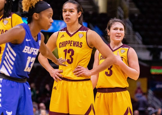Reyna Frost and Presley Hudson have the Chippewas in the NCAA Tournament for a second consecutive season.
